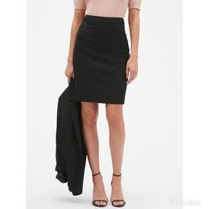 Ann Taylor | Career Black Seamed Pencil Skirt - 4